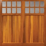 Balmoral Timber Garage Door by Woodrite Stamford