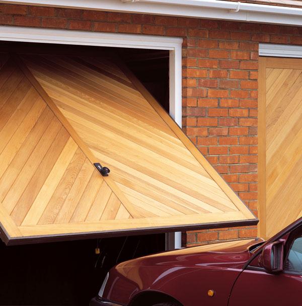 Up & Over Timber Garage Door