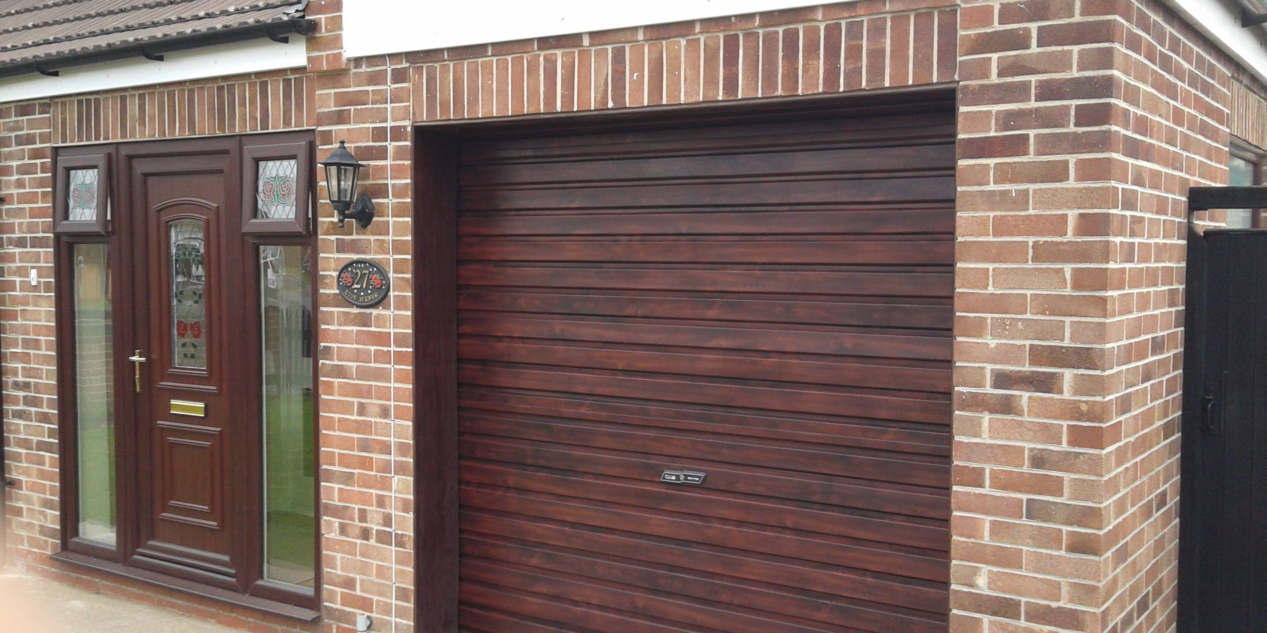New Roller Garage Door Newark : rosewood door - pezcame.com
