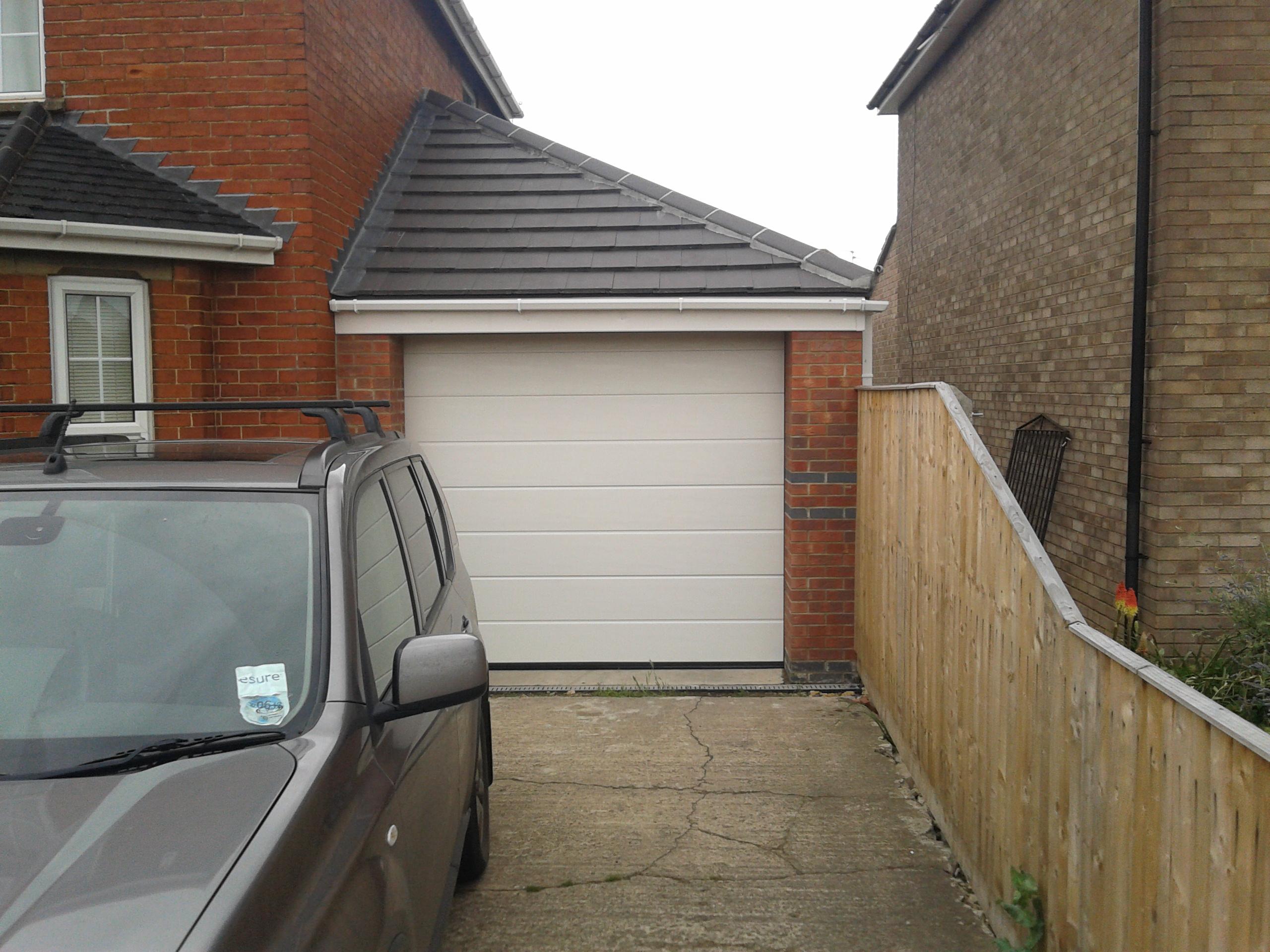 Mrib sectional automatic garage door garage door company grantham single sectional automatic garage door sleaford rubansaba