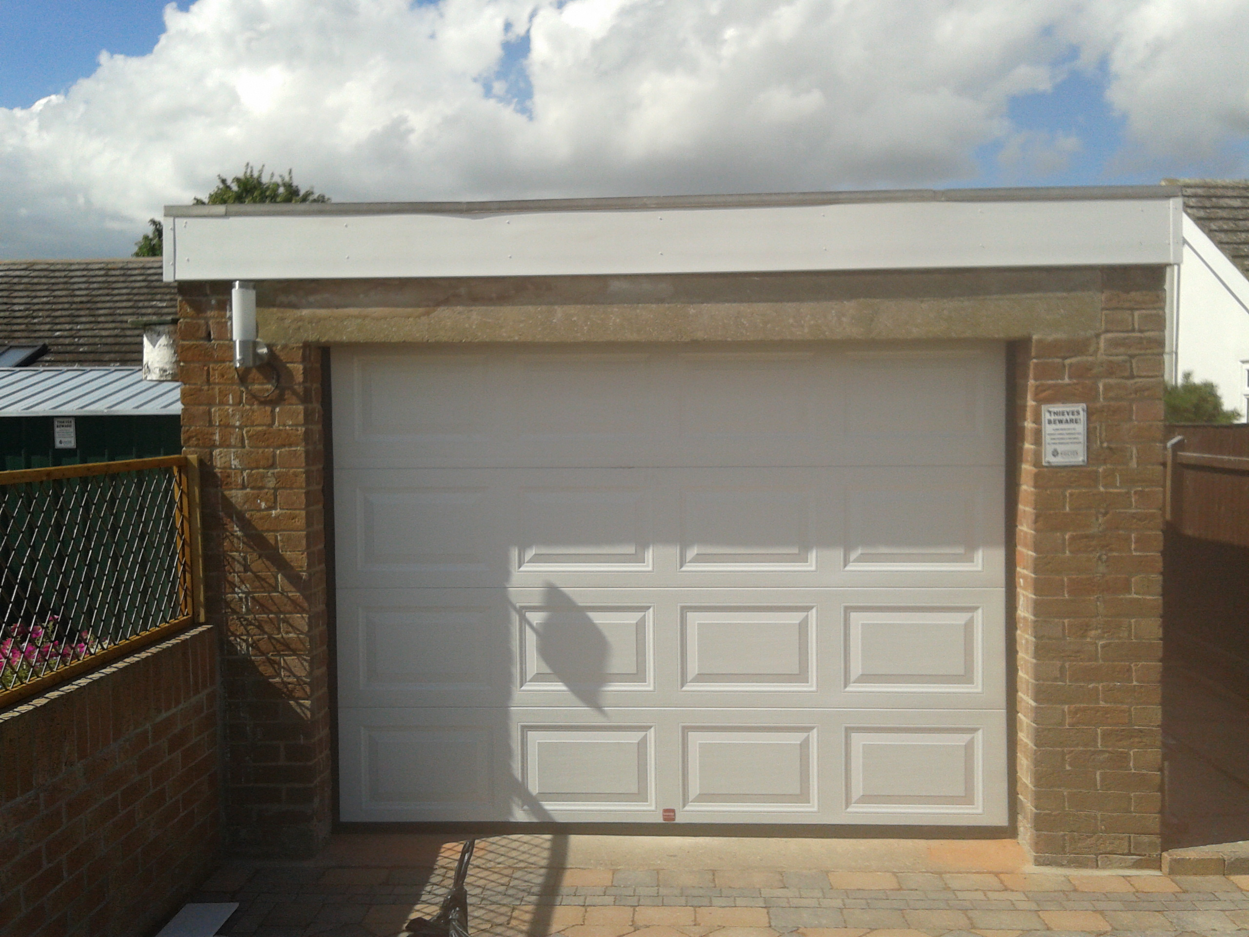 Sectional garage door - Automatic Sectional Garage Door Whatton Open Automatic Sectional Garage Door Whatton