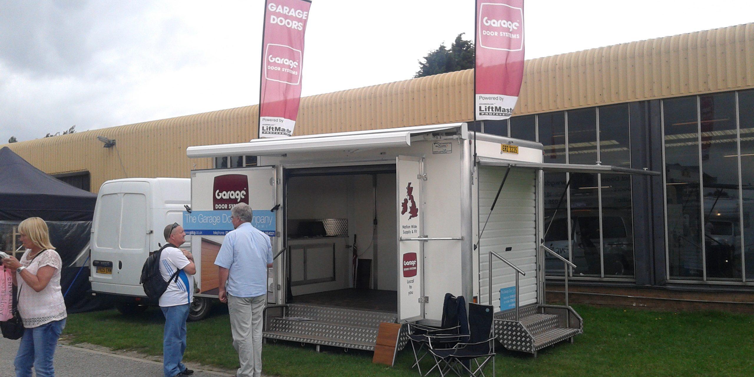 Garage Doors at the Caravan u0026 Motorhome Show & Garage Doors on Show u2013 Garage Door Company Grantham