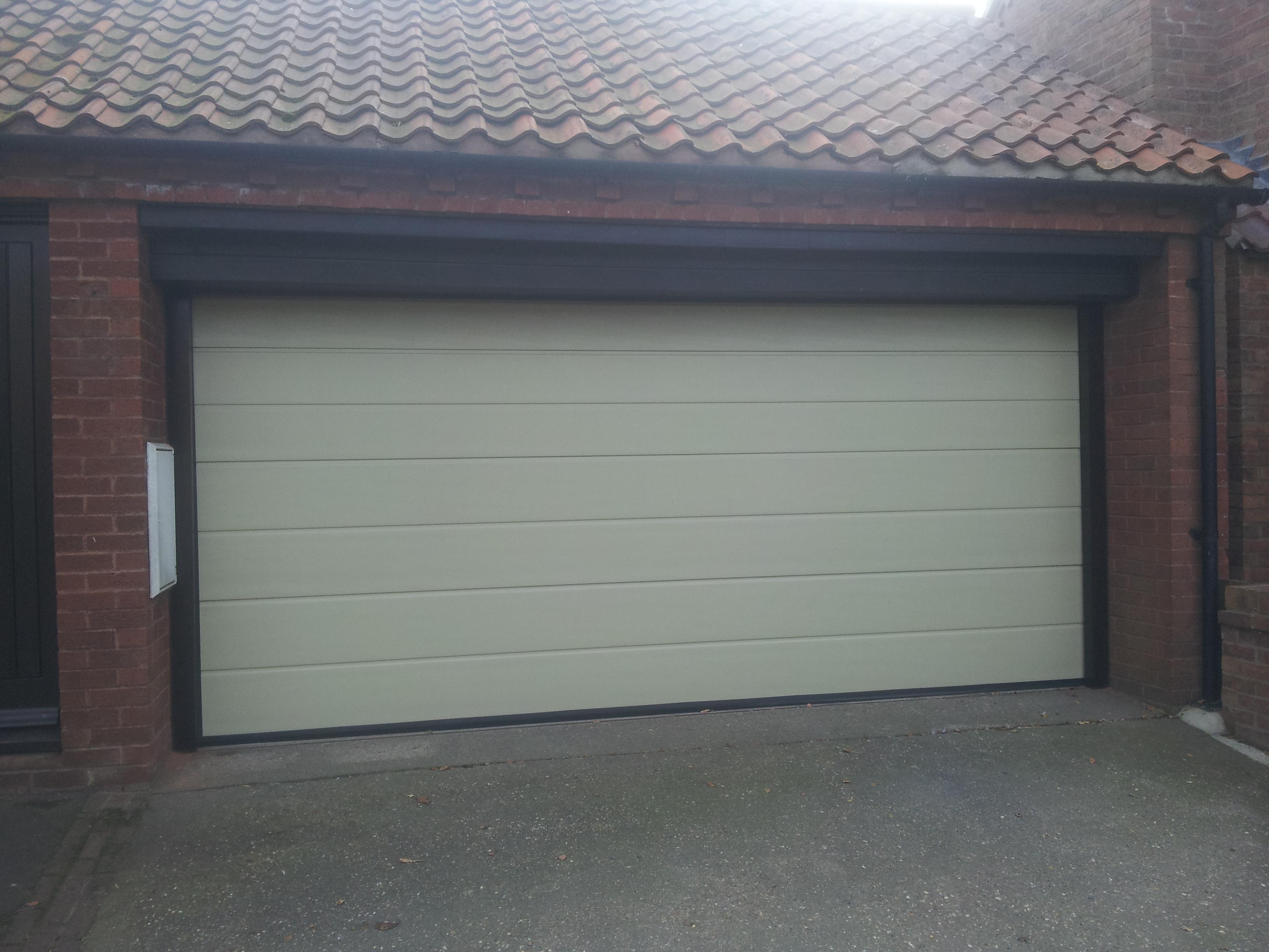 Custom color garage door belvoir company