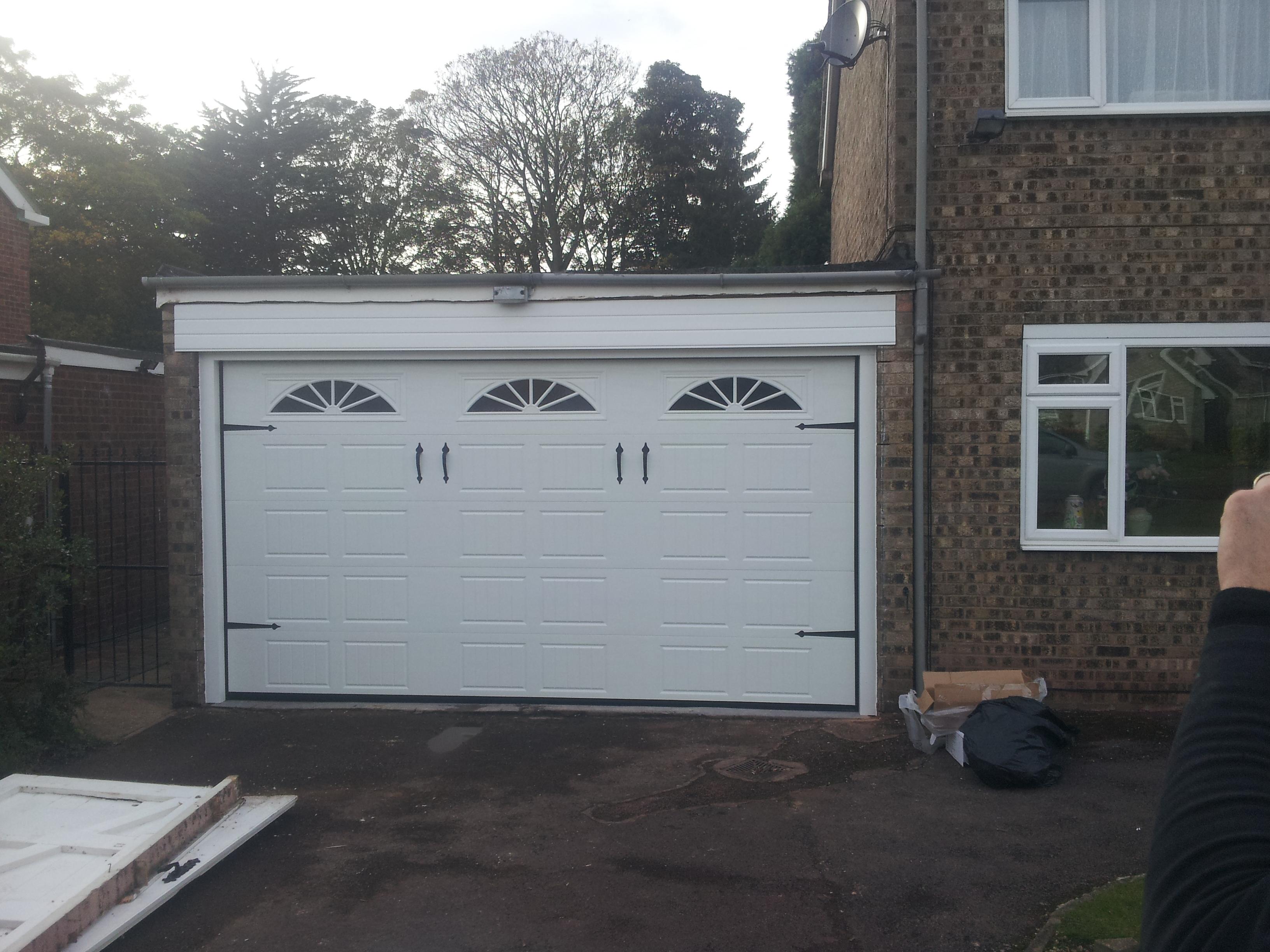 New automatic sectional garage door garage door company grantham new automatic sectional garage door grantham rubansaba