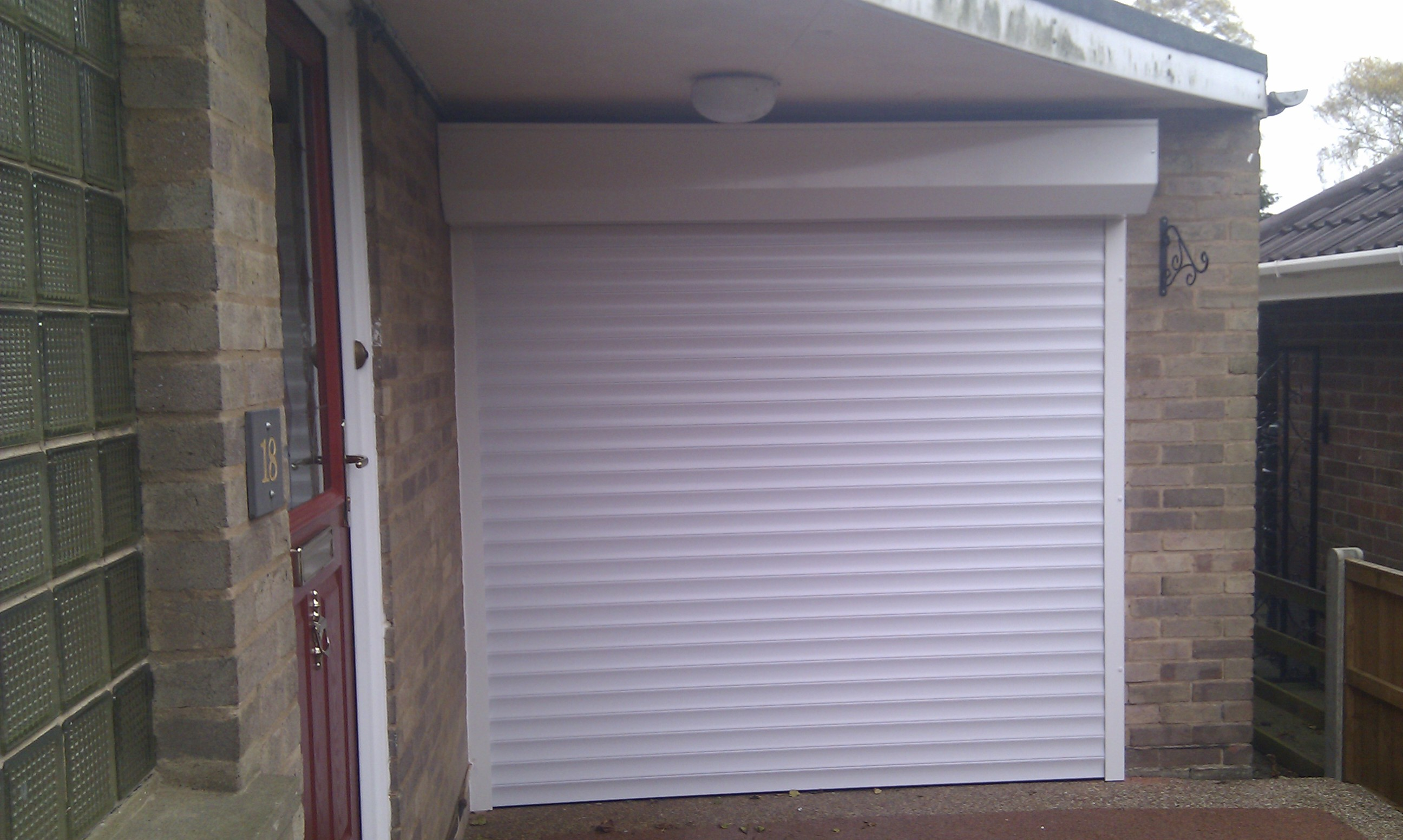 Roller Garage Door With External Box Garage Door Company