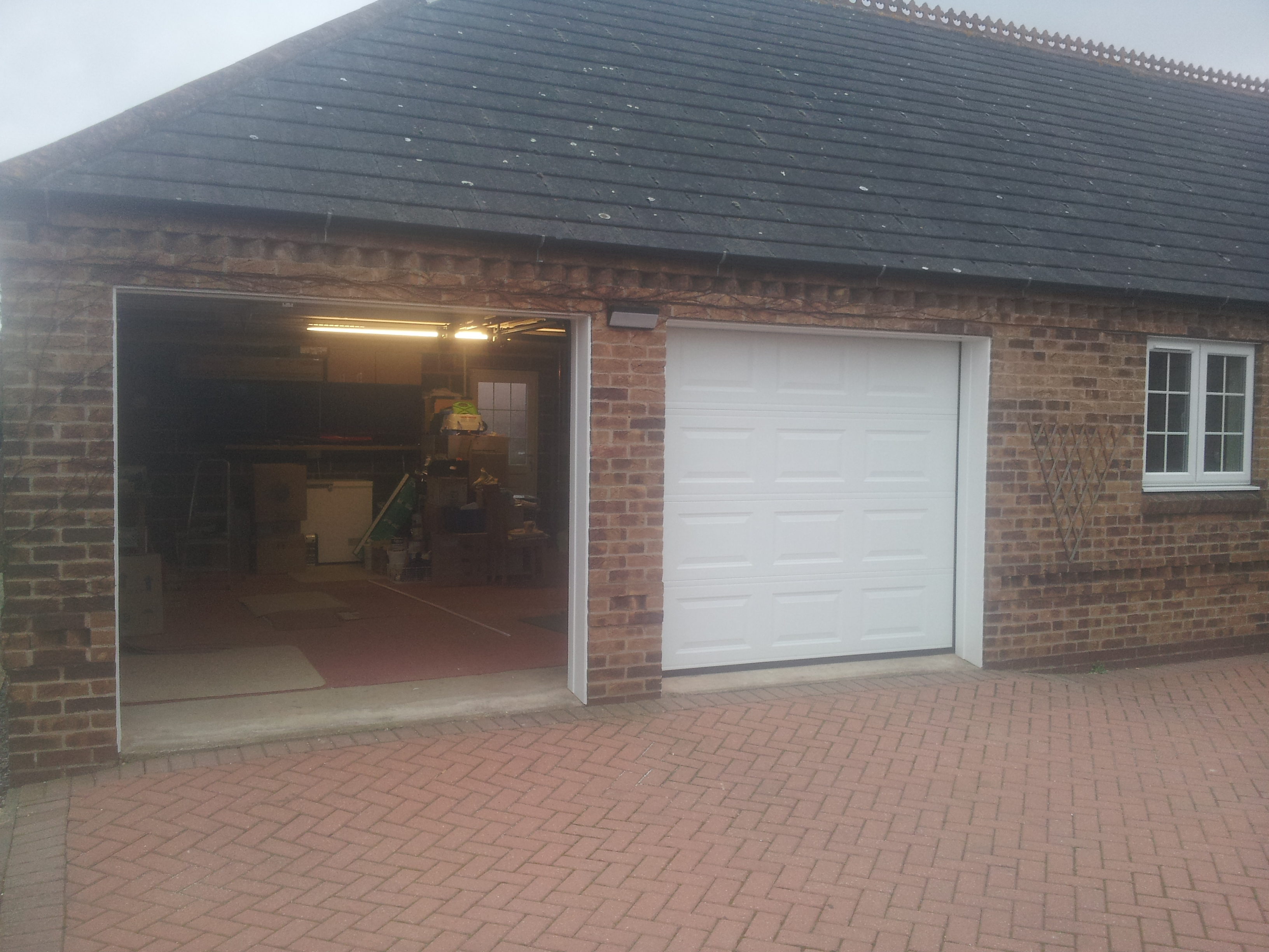 New garage doors newark garage door company grantham for New garage