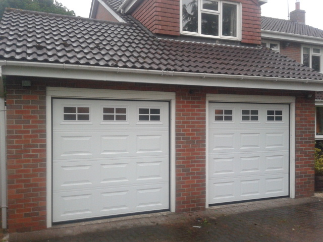 New automatic garage doors grantham sectional garage for New garage