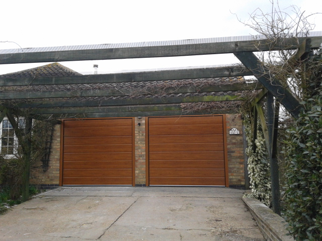 Two New Garage Doors Lincoln Garage Door Company Grantham