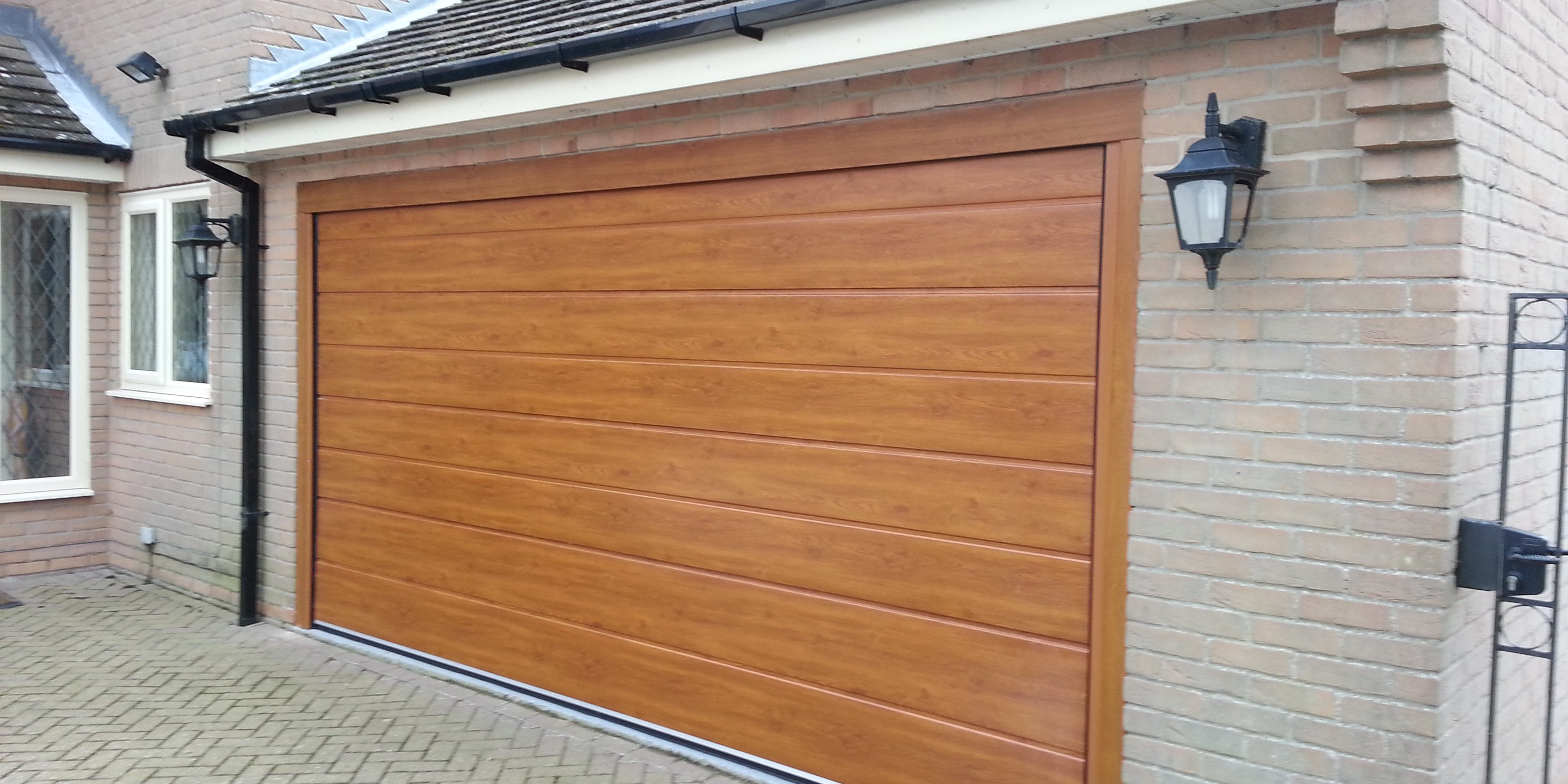 New Insulated Garage Door Grantham East Midlands Garage Door