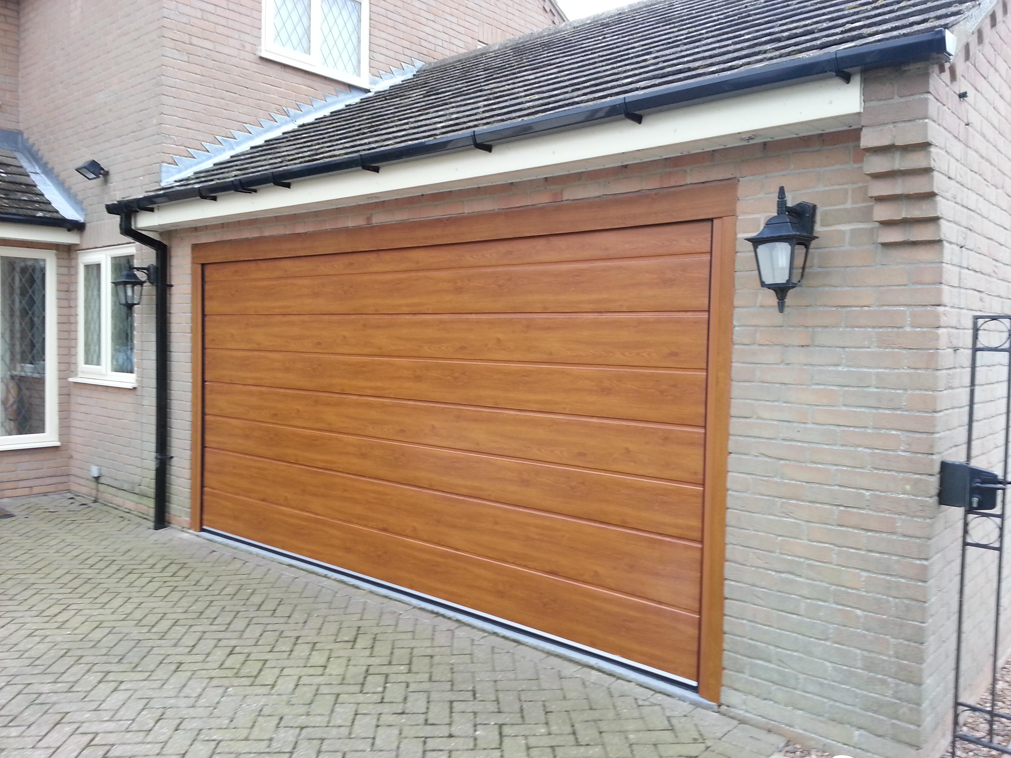 New Insulated Garage Door Grantham East Midlands