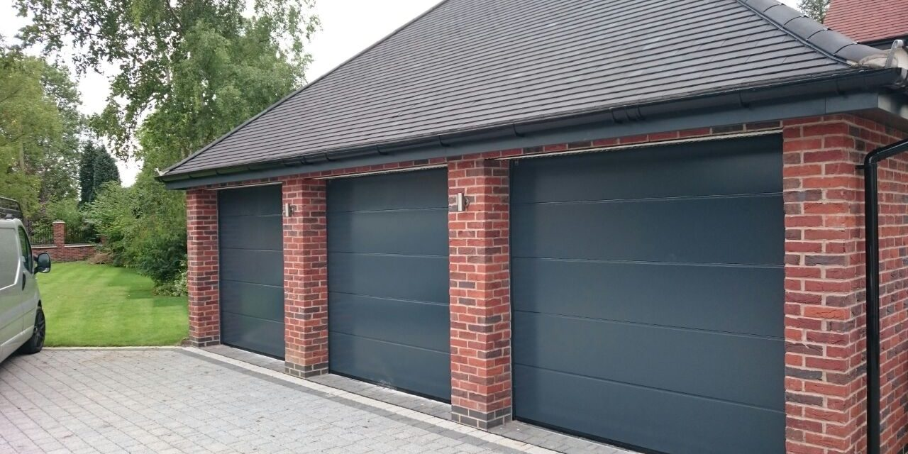 Hormann sectional garage doors in nottingham garage door for Sectional glass garage door