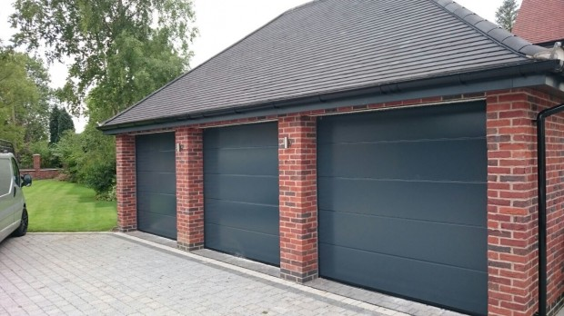 Hormann L-Rib Sectional Garage Doors in Nottingham