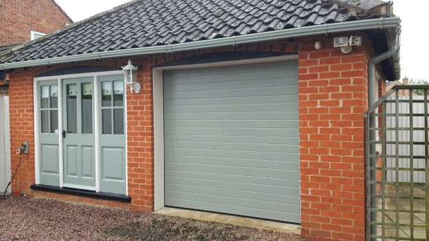 Insulated Sectional Garage Door - Grantham - East Midlands
