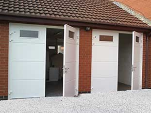 Side Hinged Garage Doors Garage Door Company Grantham