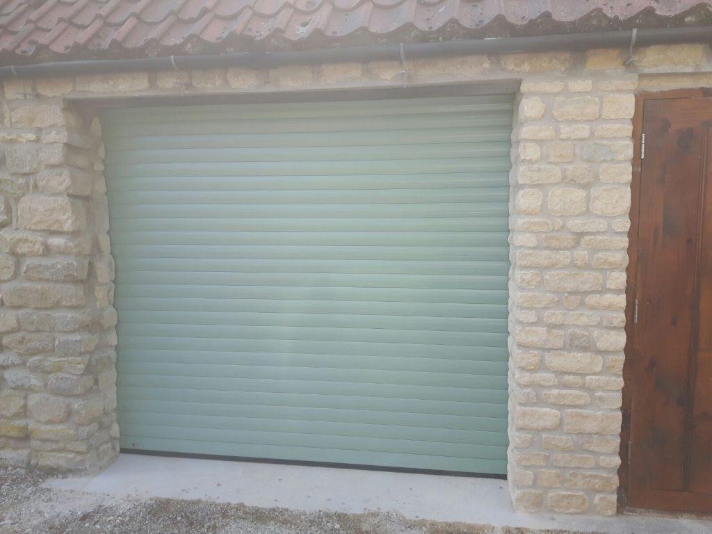 SWS Insulated Roller Garage Door Lincolnshire