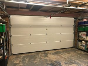 Garador Sectional Garage Door Inside